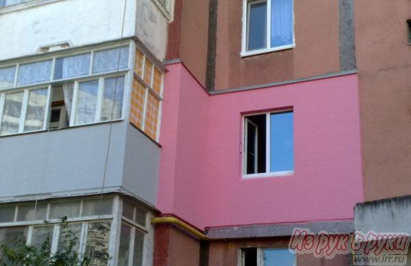 Утепление фасадов герметизация